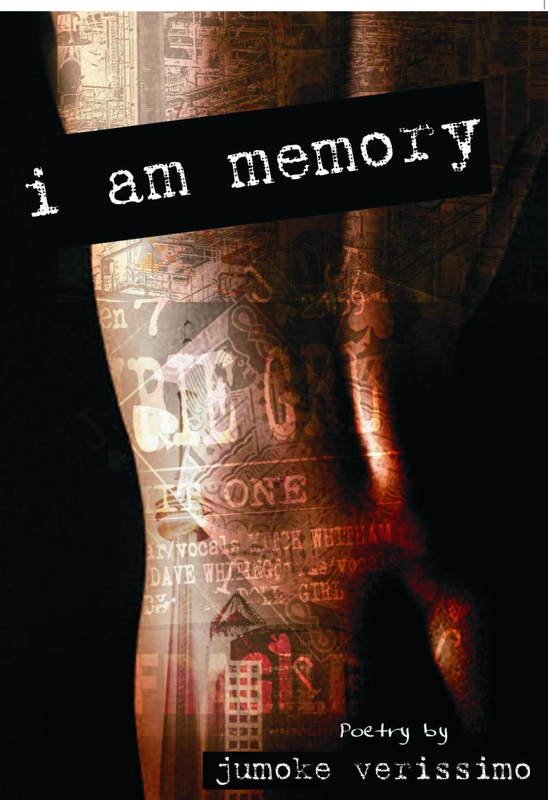 I am memory by Jumoke Verissimo